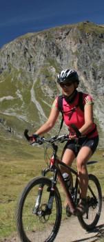 Mirella bei dem Alpencross Zugspitze – Vinschgau
