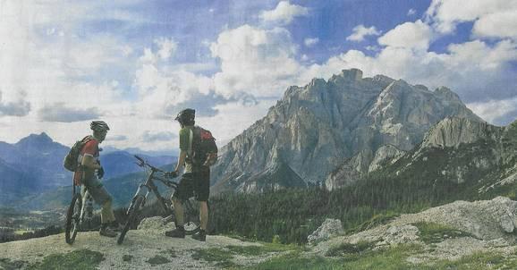Eine Radtour quer über die Alpen
