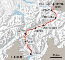 Route Steinach nsch Sterzing