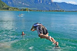Das Ziel: Kalterer See