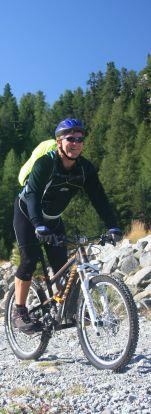 Detlef beim Alpencross Bodensee – Comer See