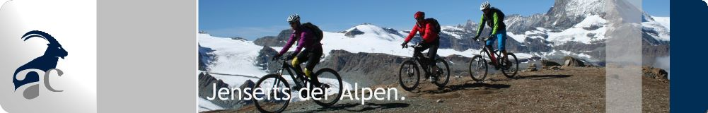 Alpencross per Mountainbike.