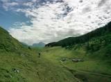 Schon am ersten Tag wird es alpin